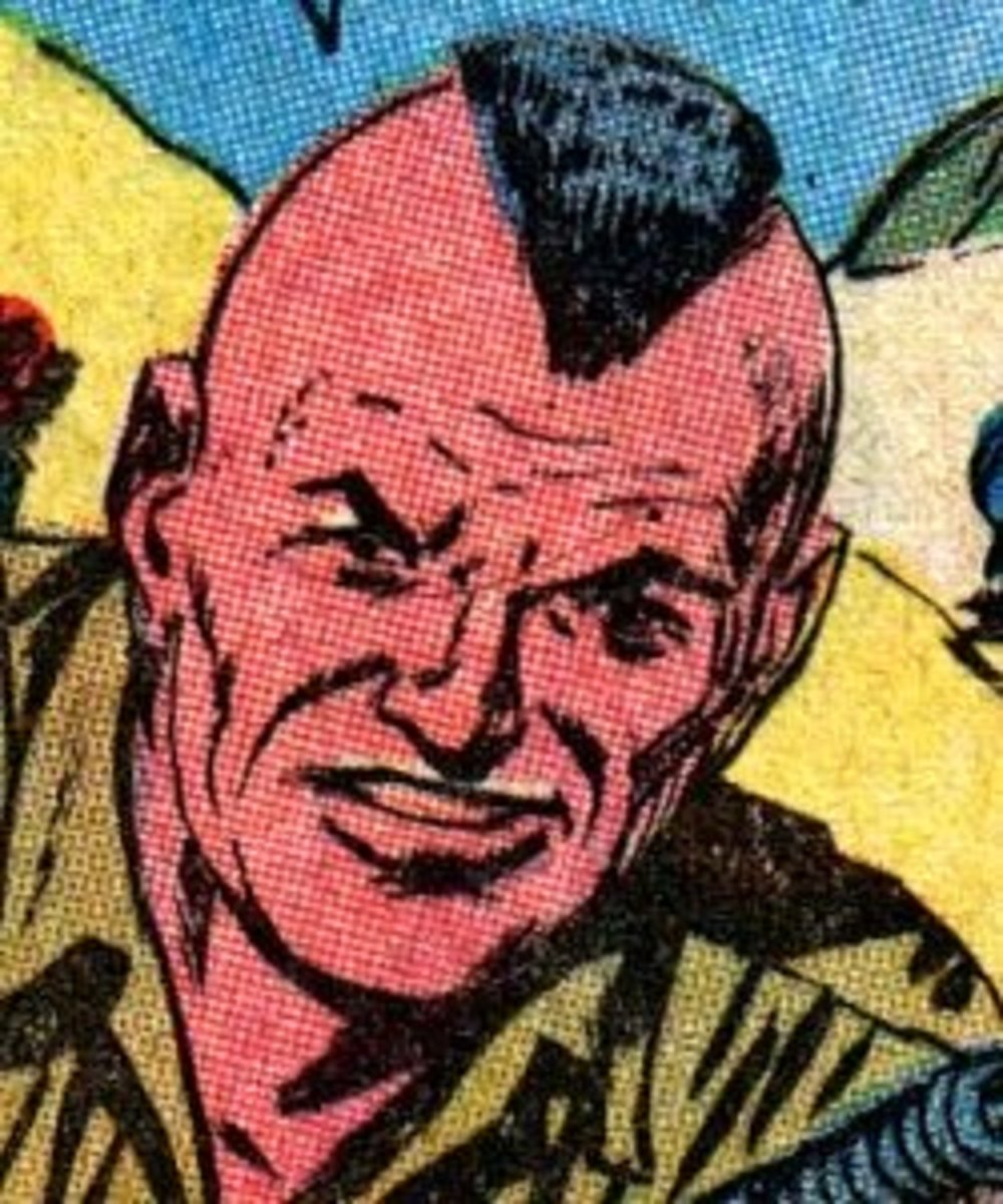 Private Jay Littlebear of Combat Kelly and the Howling Commandos