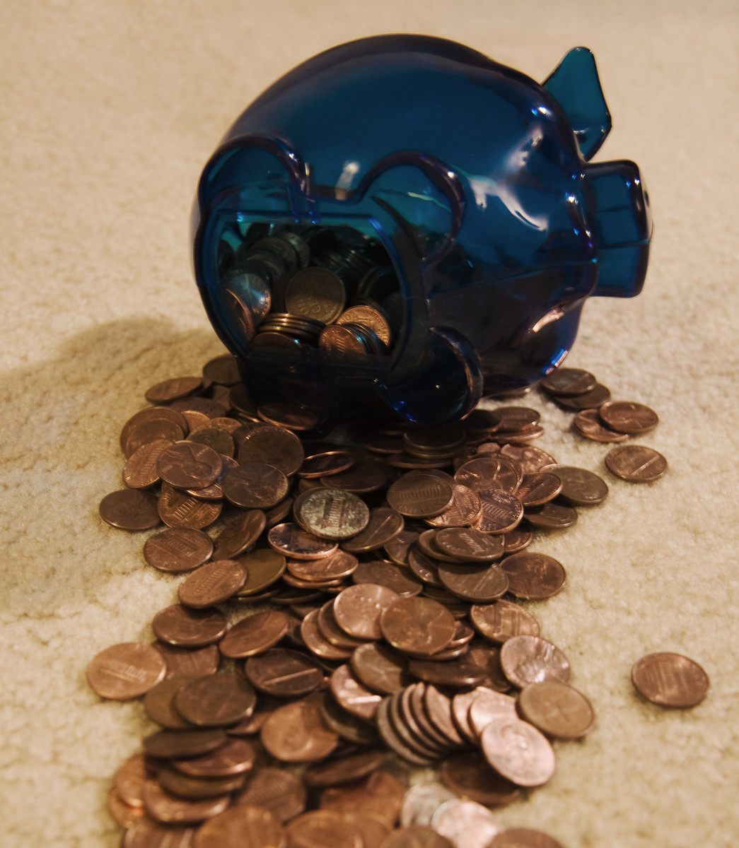 Break out the piggy bank!