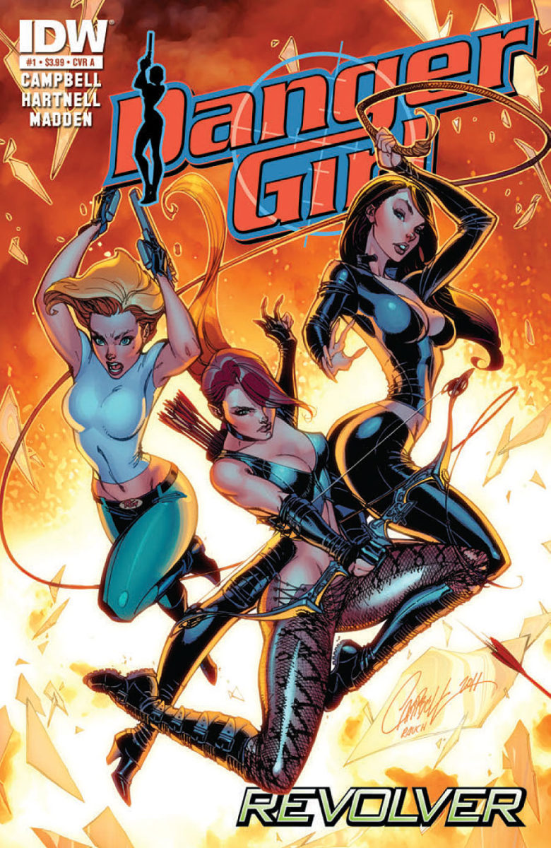Danger Girl covers by J Scott Campbell
