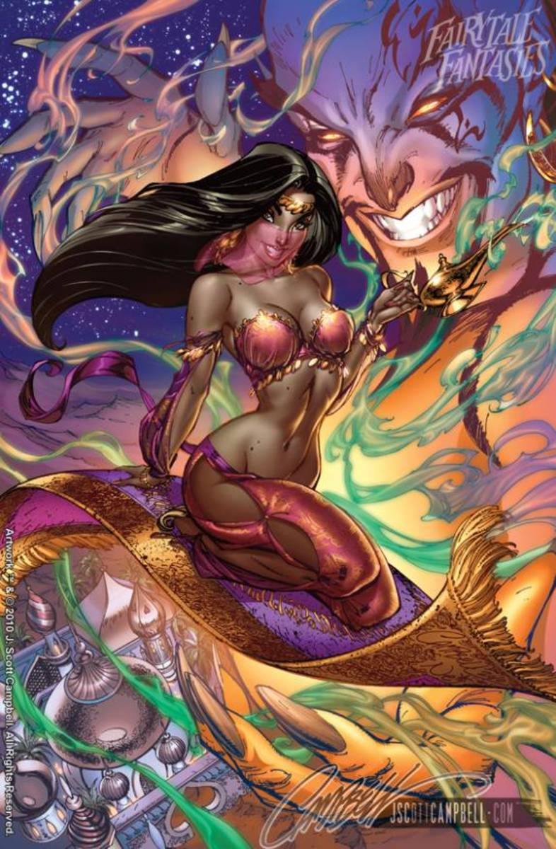 Jasmine by J Scott Campbell
