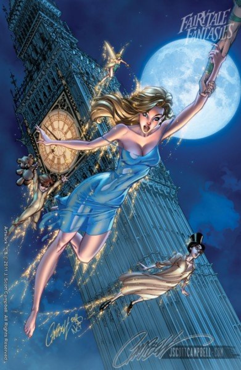 Wendy  by J Scott Campbell