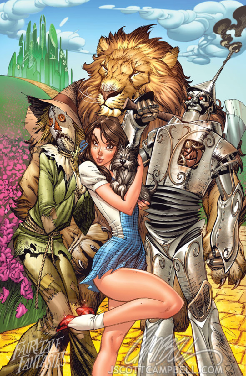 Dorothy by J Scott Campbell