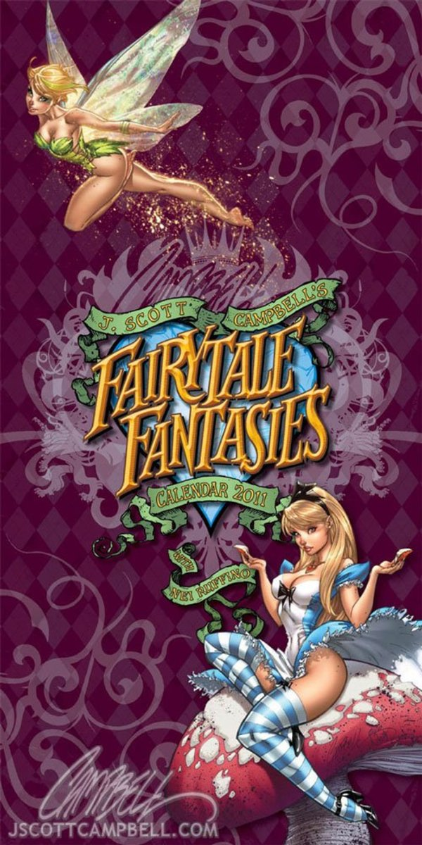 Fairytale Fantasies 2011 by J Scott Campbell