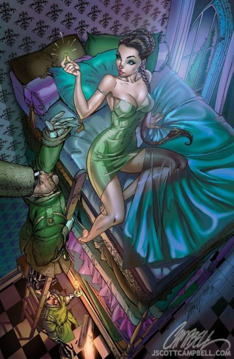 Princess and the Pea by J Scott Campbell