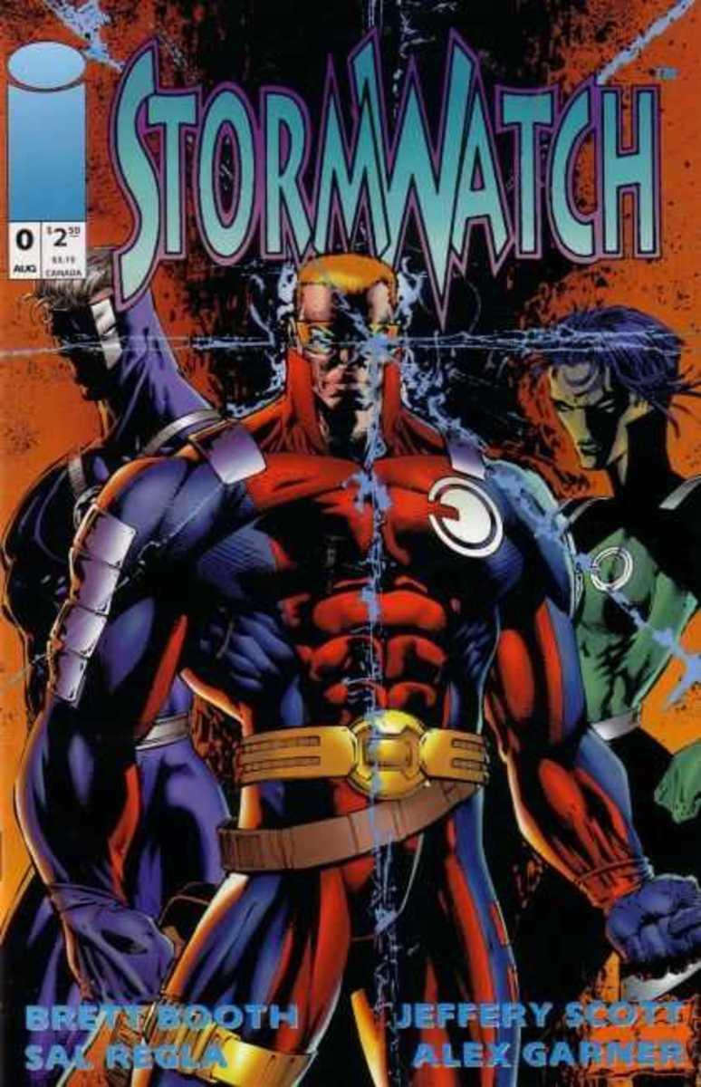 Stormwatch # 0 He originally called himself Jeffrey Scott