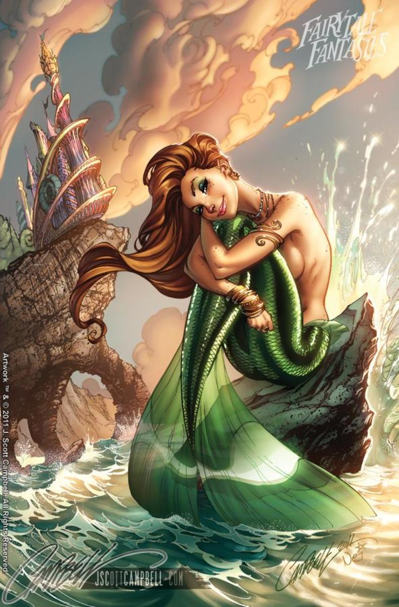 Ariel by J Scott Campbell