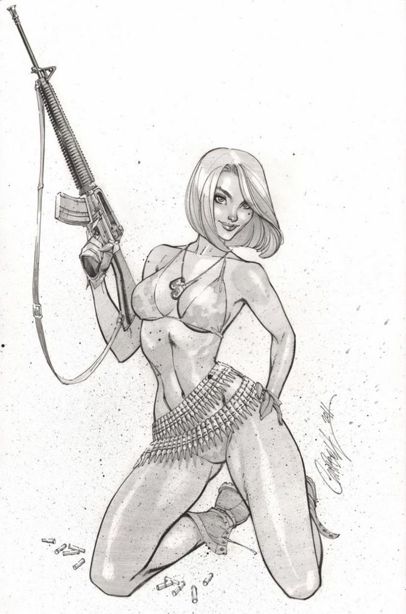 pencils by J Scott Campbell
