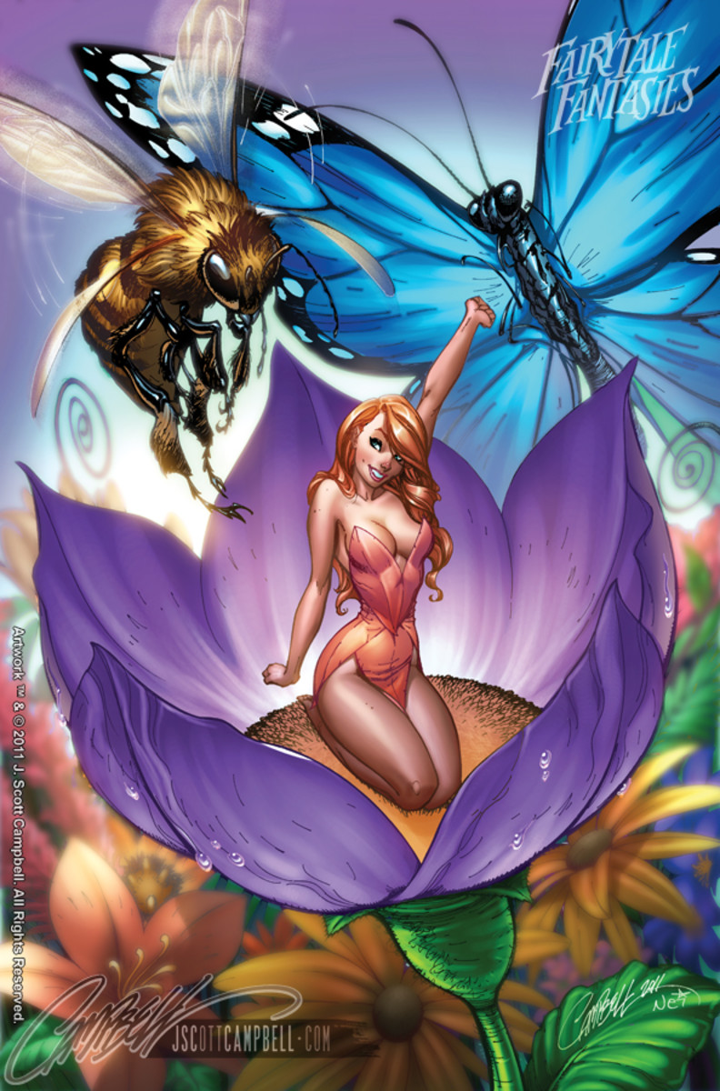 Thumbelina by J Scott Campbell