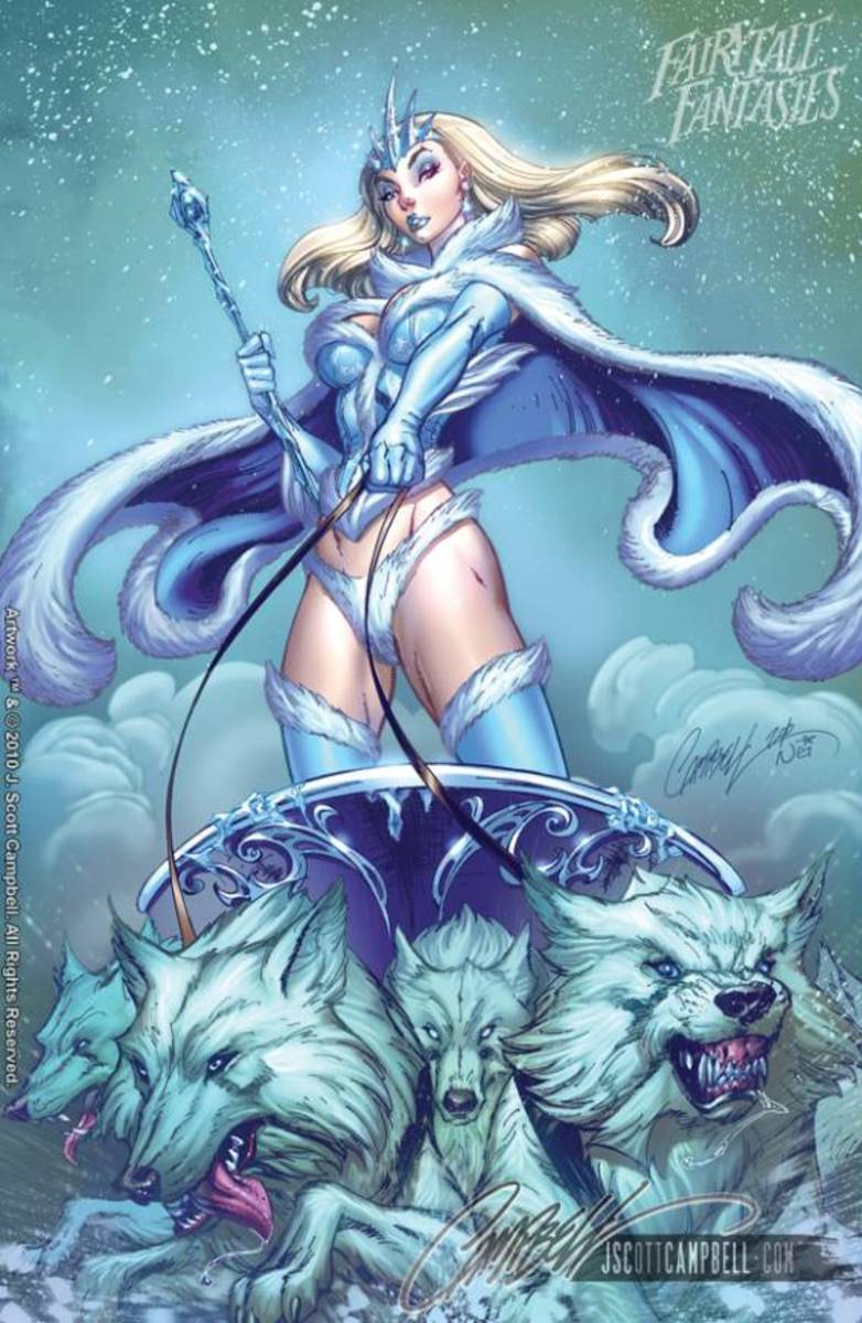 Snow Queen by J Scott Campbell