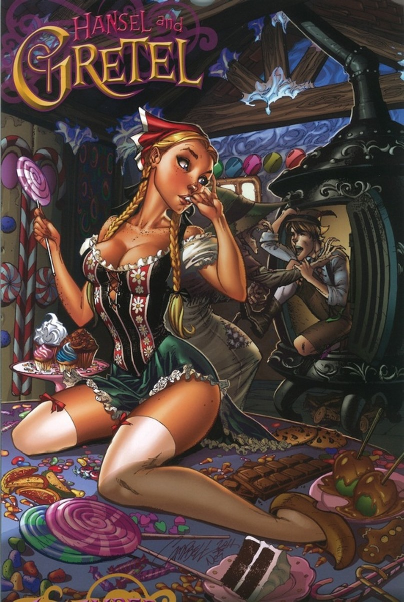 Gretel by by J Scott Campbell