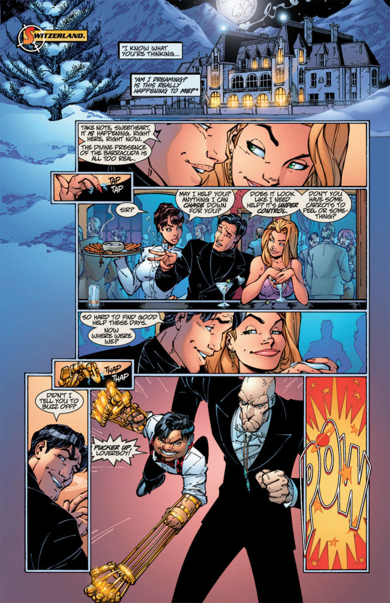 Danger Girl interiors by J Scott Campbell