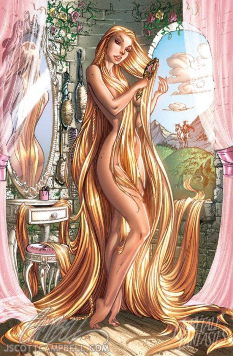 Rapunzel by J Scott Campbell