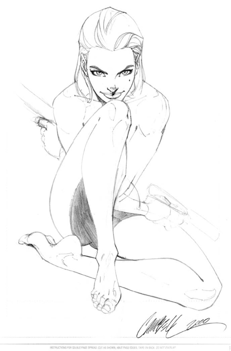 Sketch by J Scott Campbell