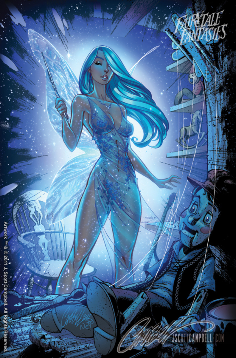 Blue Fairy by J Scott Campbell
