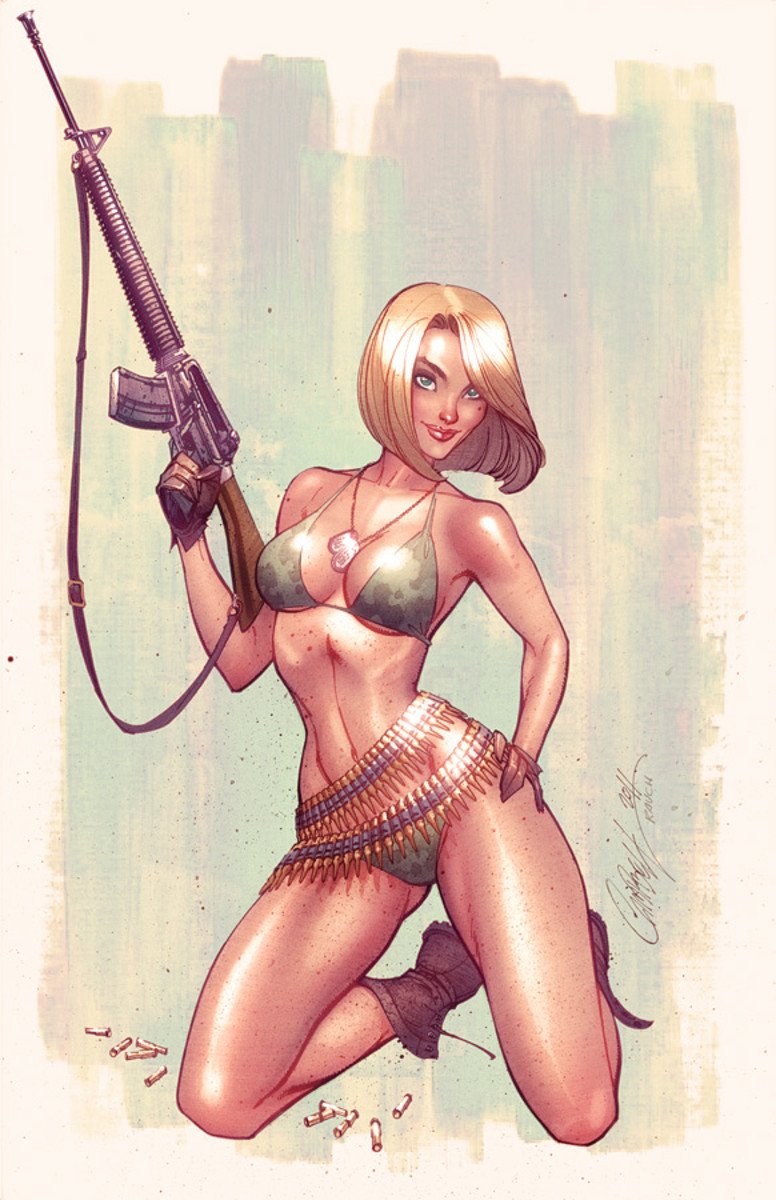 by J Scott Campbell