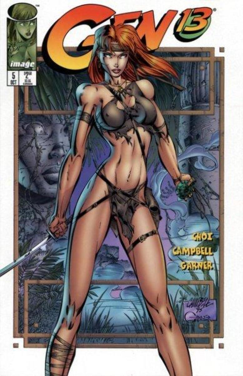 Gen 13 cover by J Scott Campbell