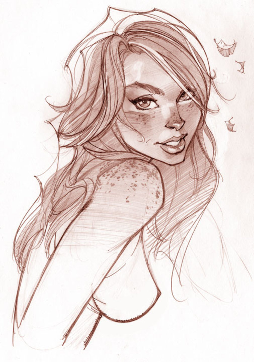 MJ by J Scott Campbell ( pencils)