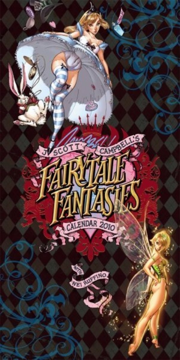 Fairytale Fantasies 2010 by J Scott Campbell