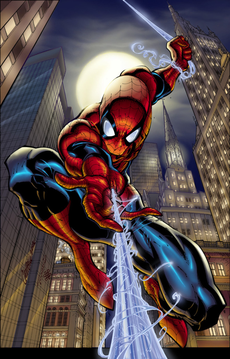 Spiderman by J Scott Campbell