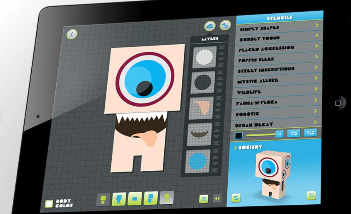 Paper Critters iPad App