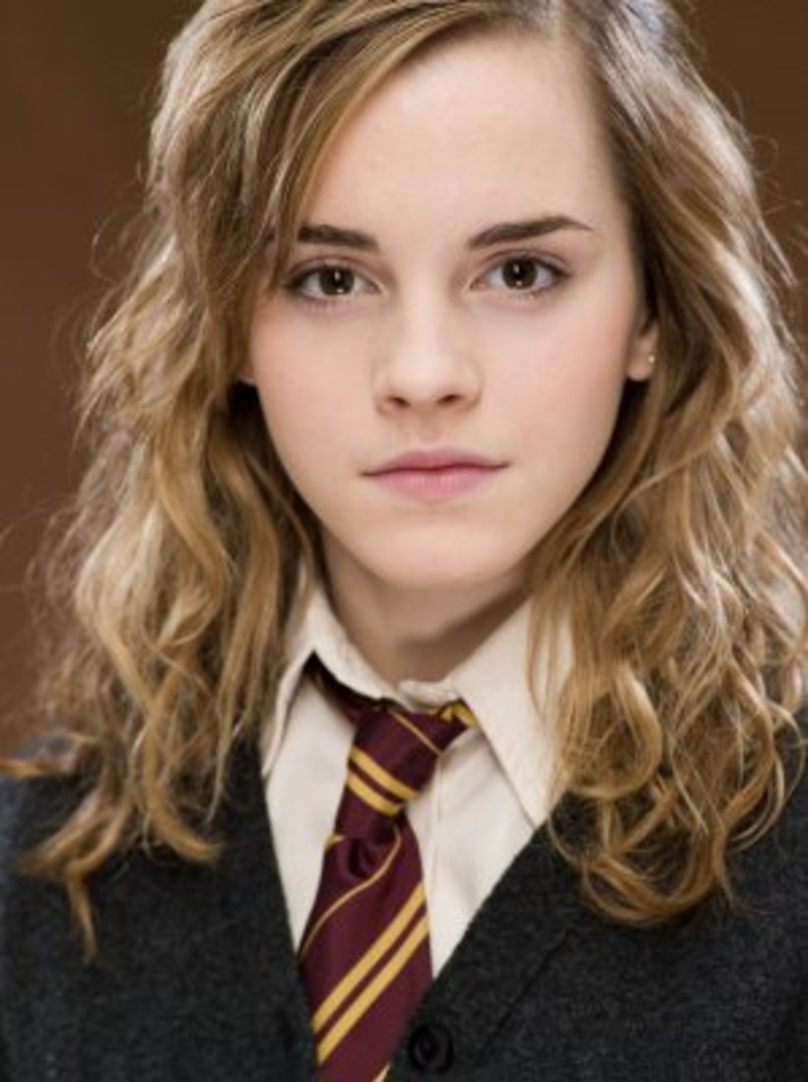 Hermione Granger (played by Emma Watson) never fails to have a spell up her sleeve.