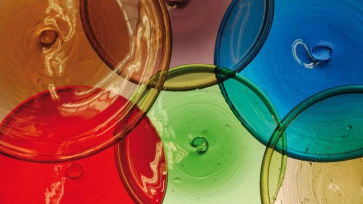 Rondels in various colors