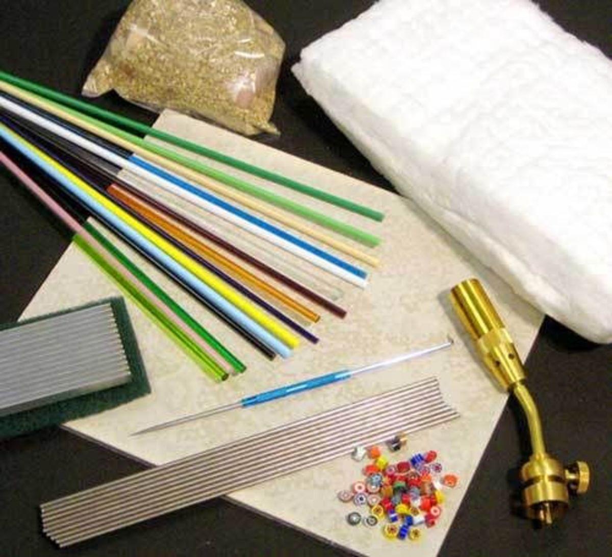 Tools, Torches, Bits & Pieces