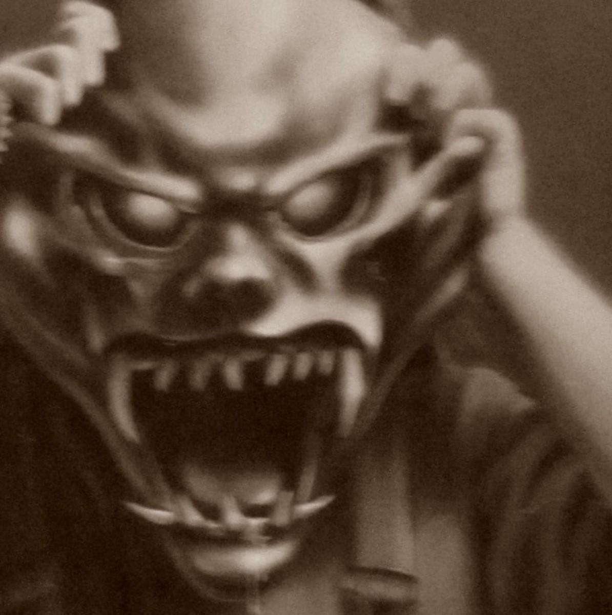 goosebumps the haunted mask book report