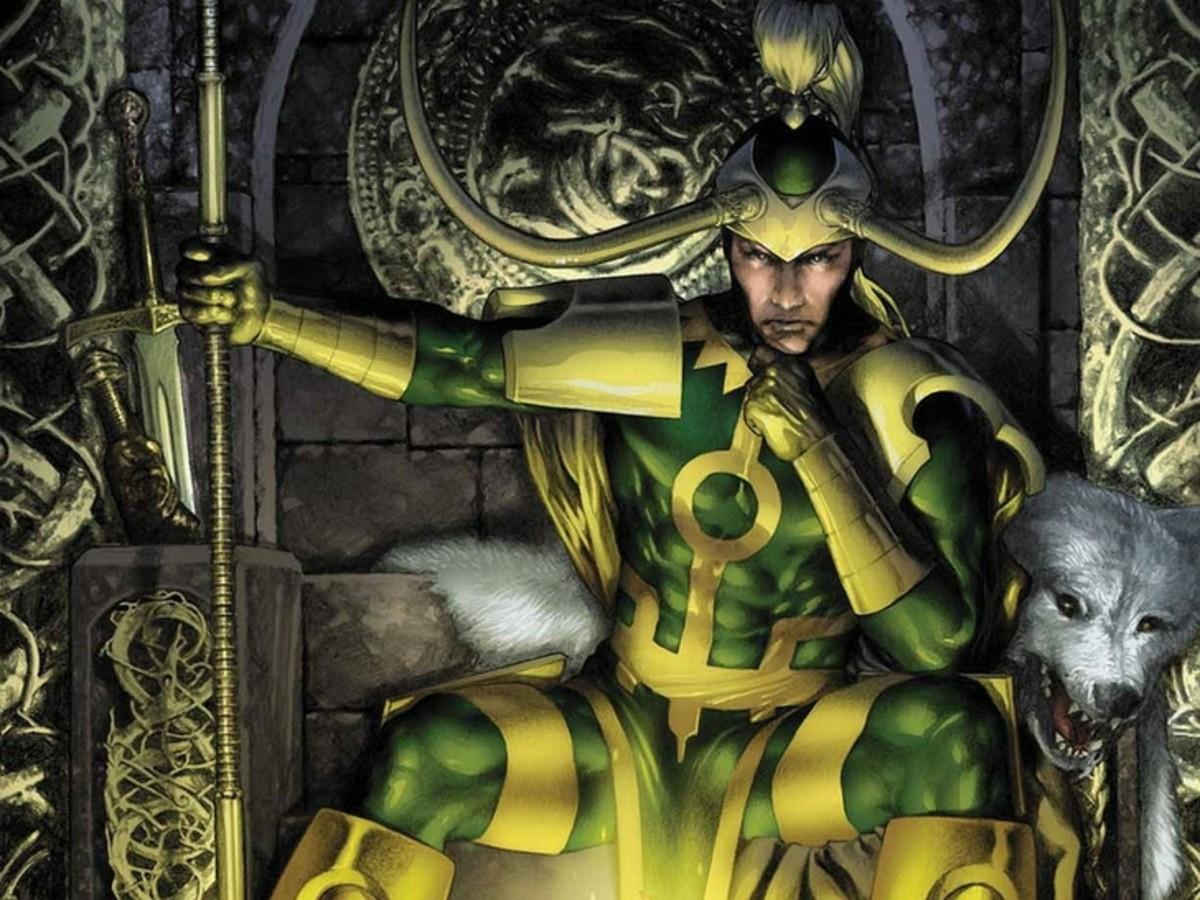 Loki, plotting mischief as usual.