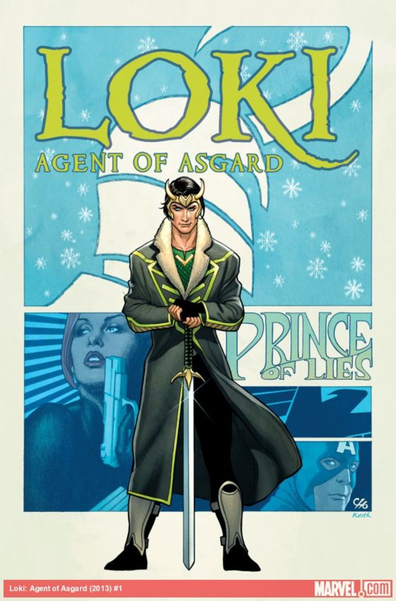 "The cover for ""Loki: Agent of Asgard #1."""