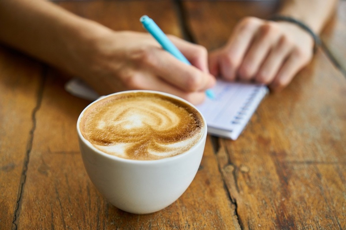 A coffee break gives you time to pause and gather your thoughts.