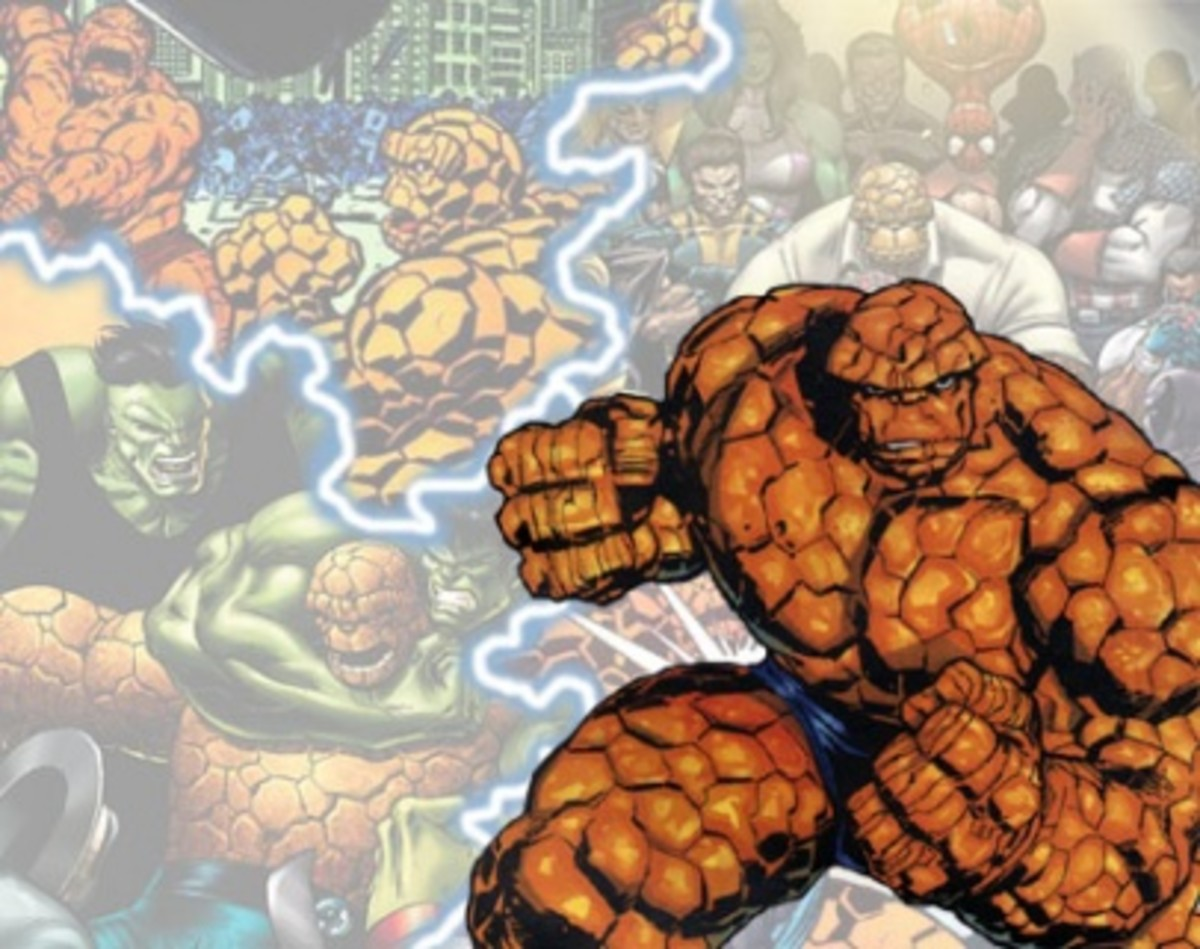 The fantastic four's Thing