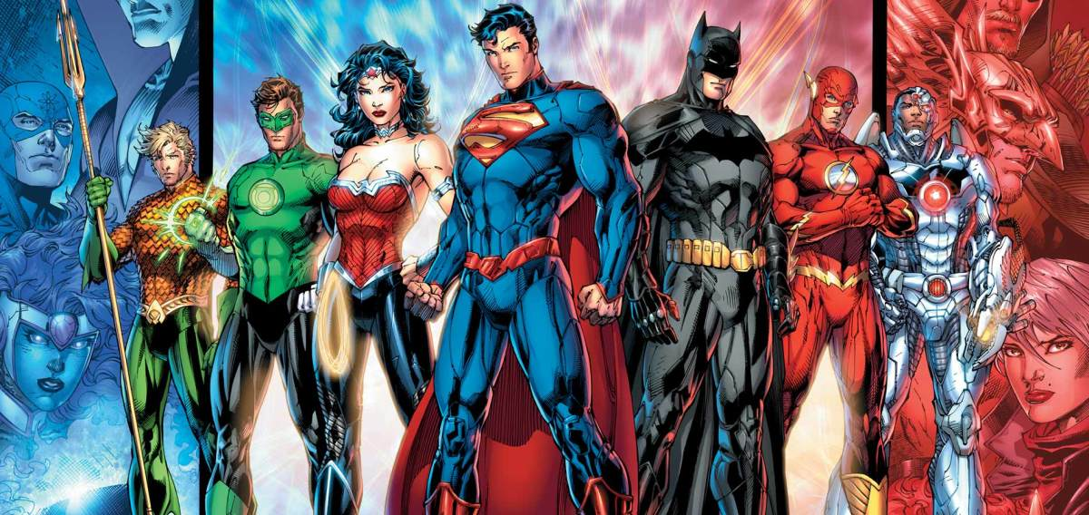 DC comics famous Justice League