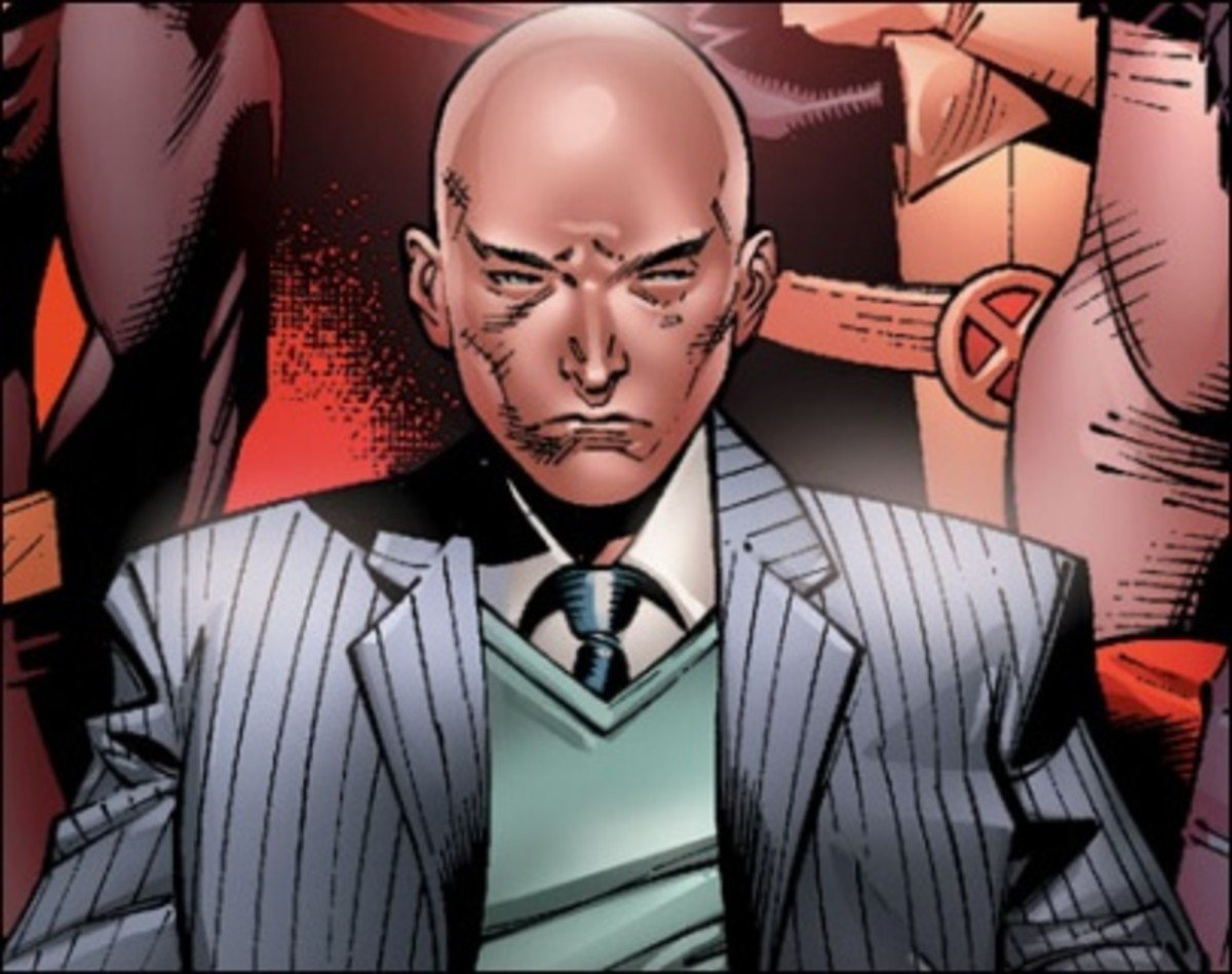 Charles Xavier from Marvels X-Men