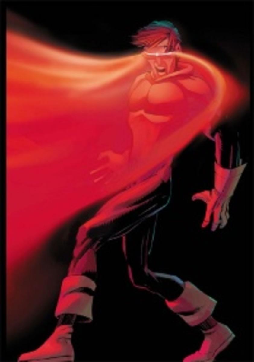 Cyclops from Marvel's X-Men.