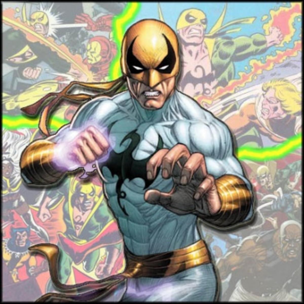 Marvel Comics' Iron Fist.
