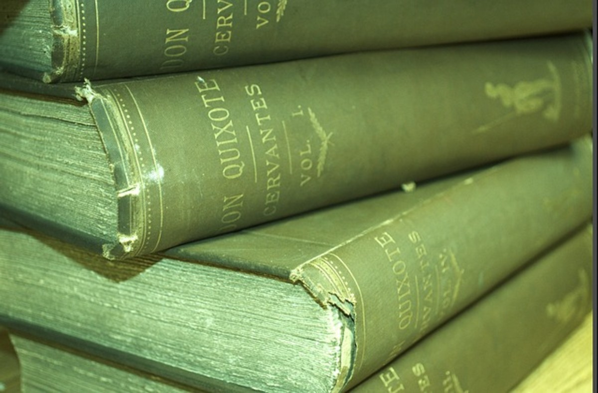 A stack of old books may have personal value to a collector.