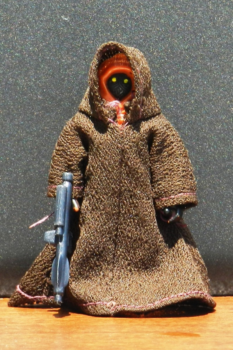 Vintage Jawa (Cloth Cape) Action Figure