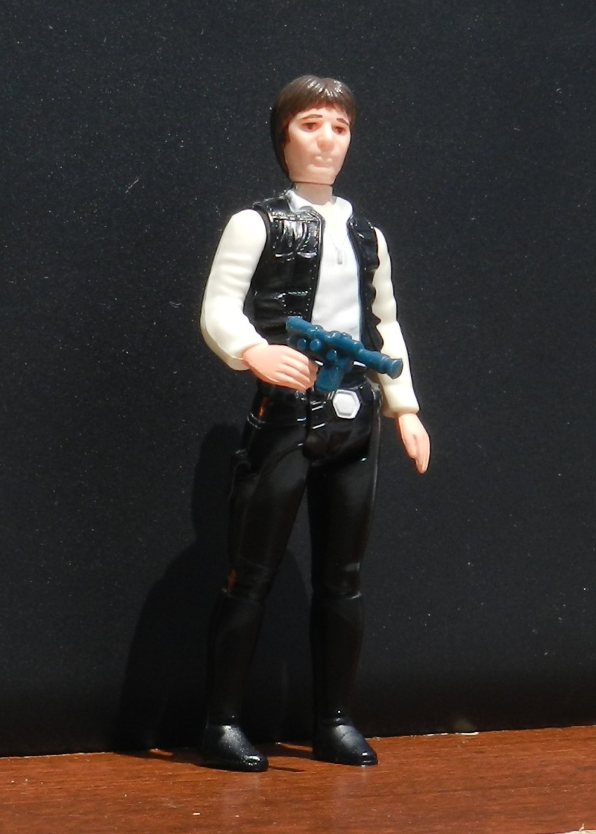 Han Solo Vintage Action Figure