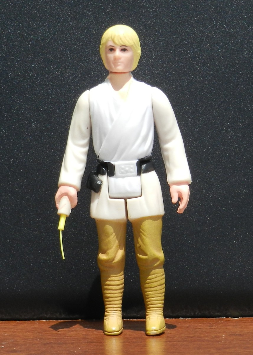 Luke Skywalker Vintage Star Wars Action Figure