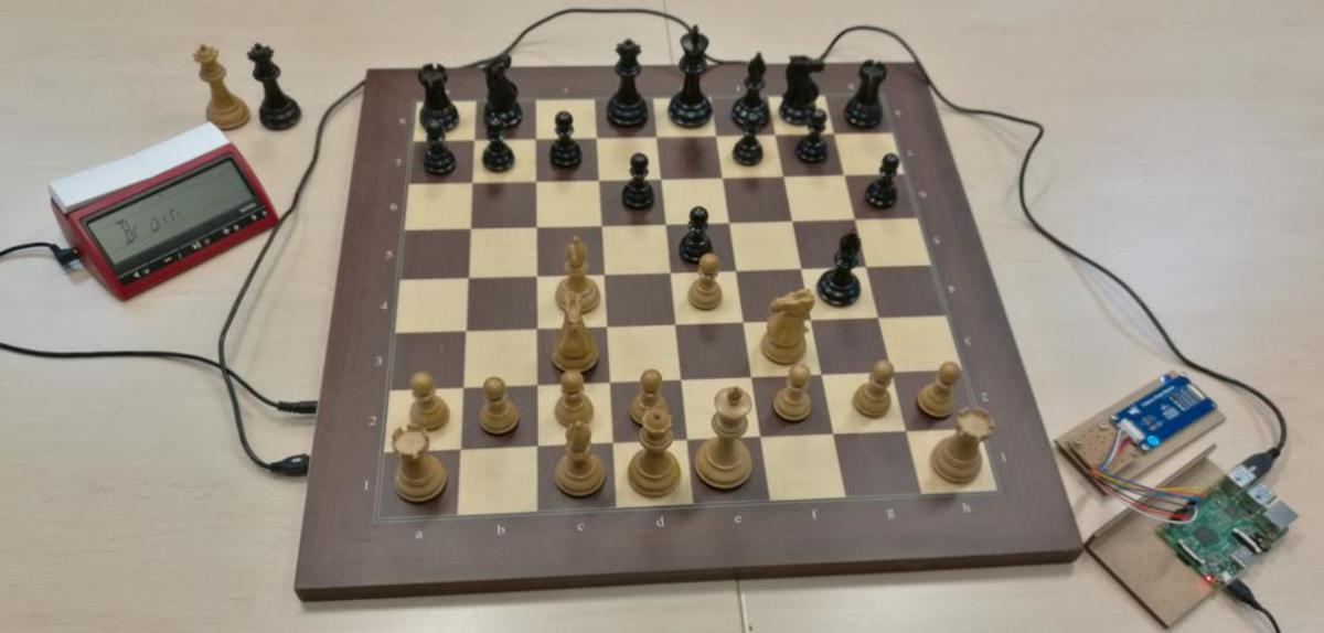 Manually installed picochess
