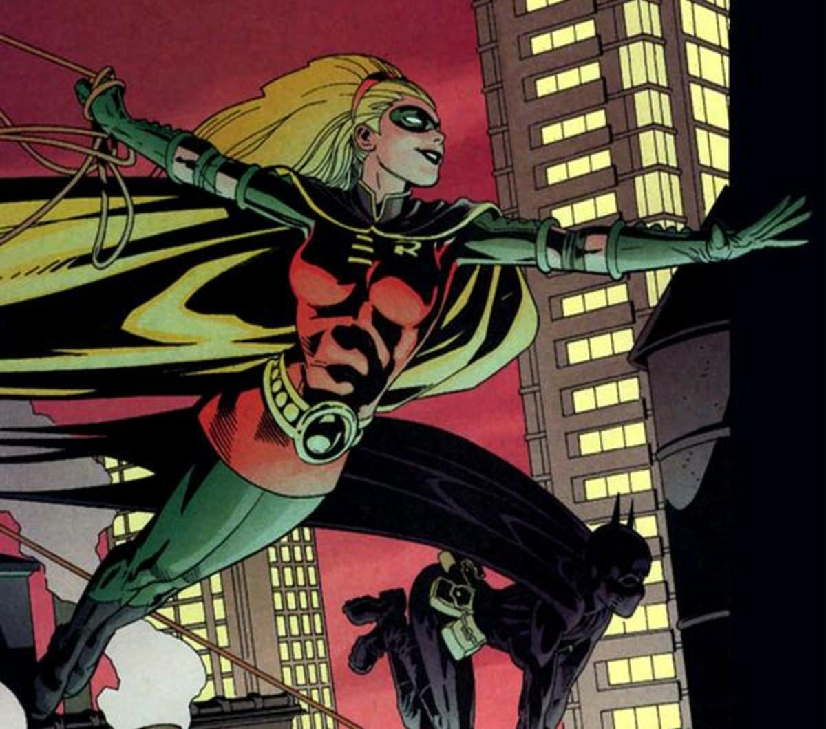 Stephanie Brown as Robin
