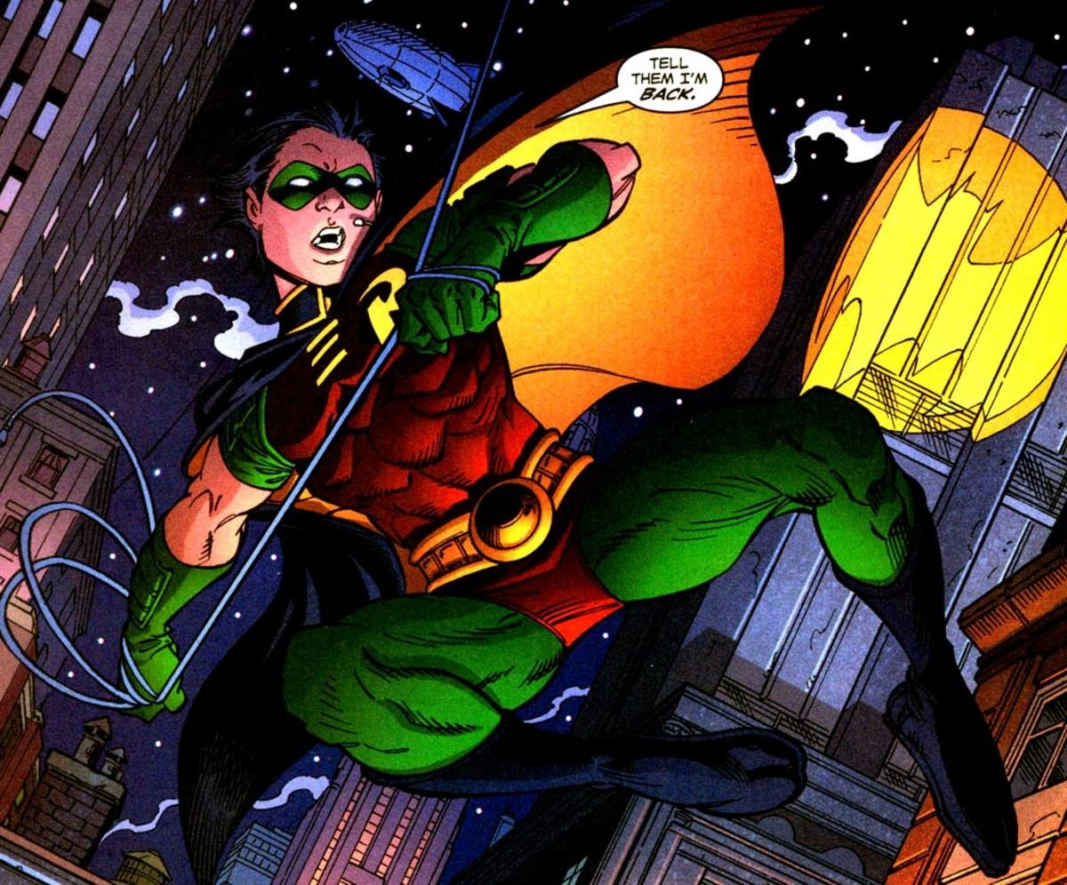Tim Drake as Robin
