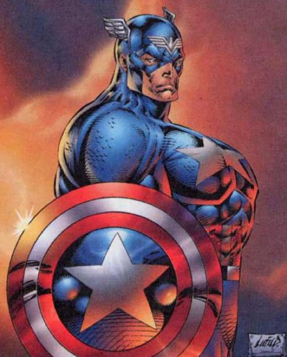 Rob Liefeld's idea of human anatomy.