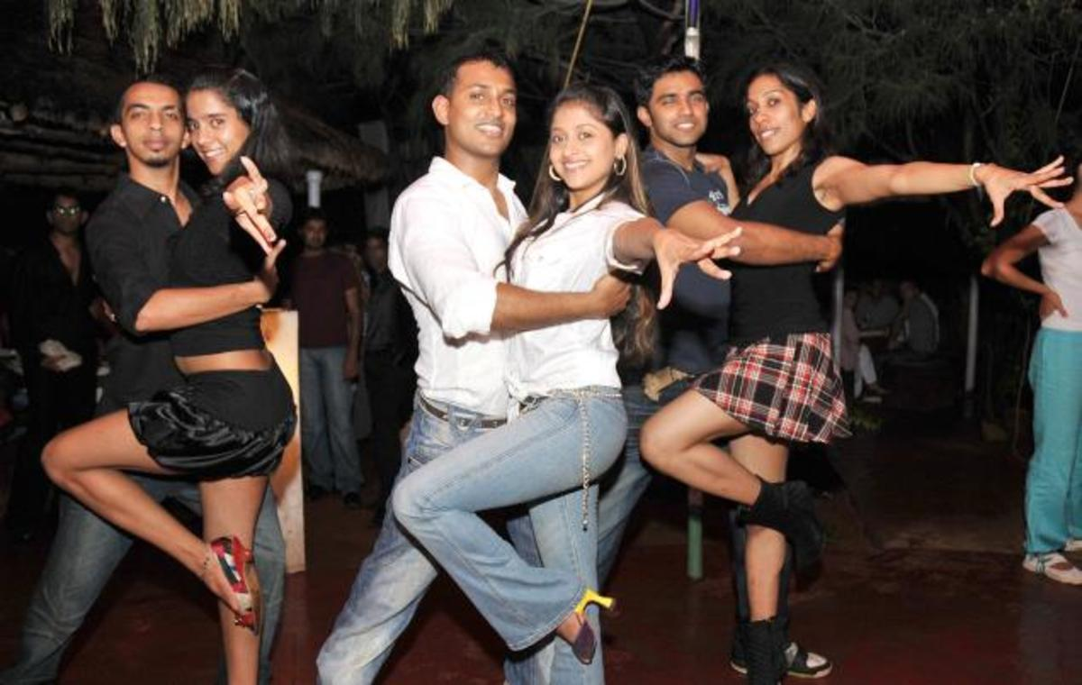 Dancing salsa together is a great way to make new friends and spend time together