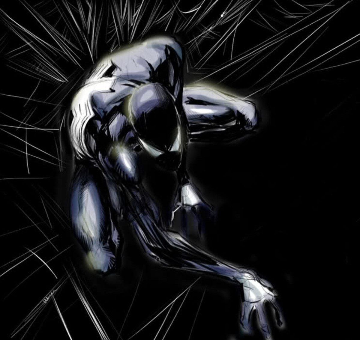 Black-Suit Spider-Man