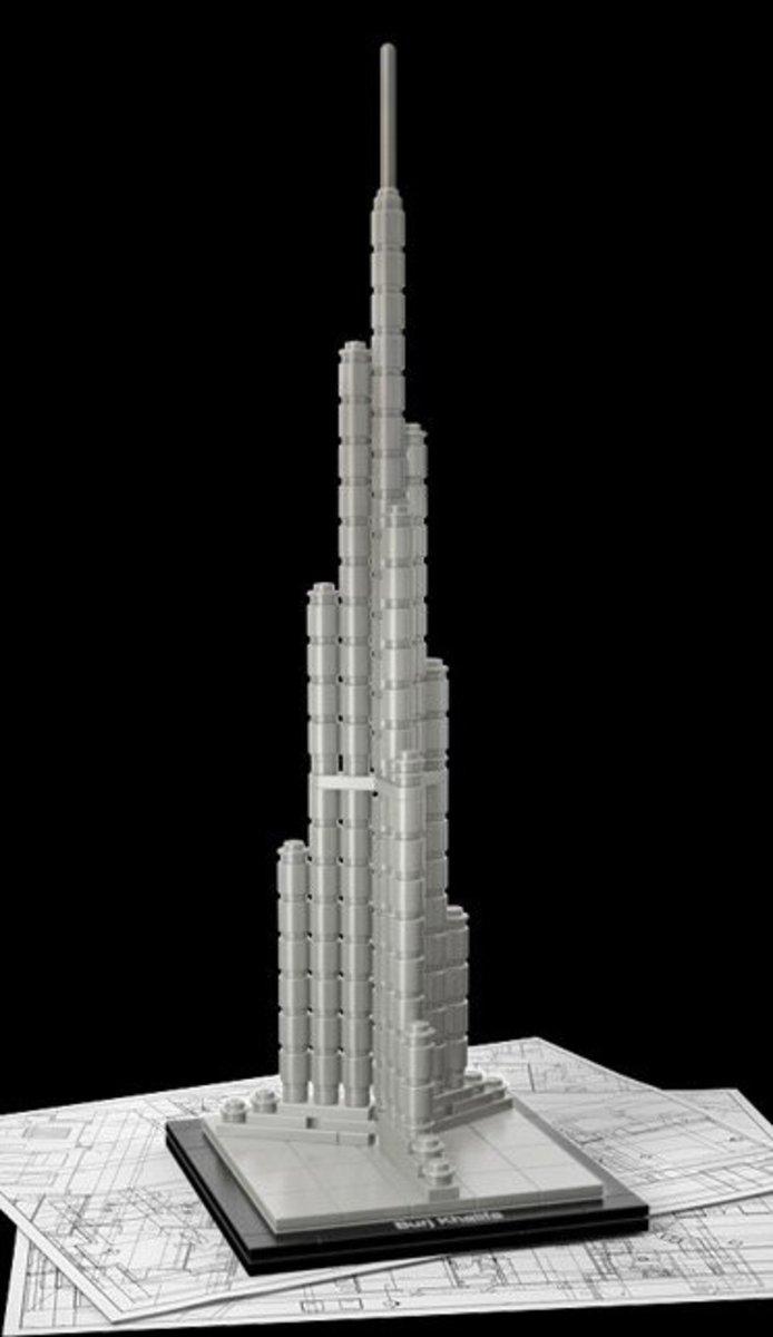Lego Burj Khalifa (2011 edition)