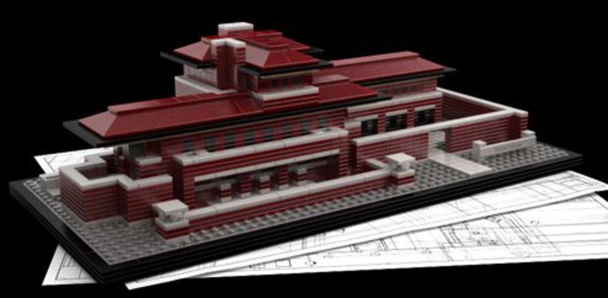 Lego Robie House