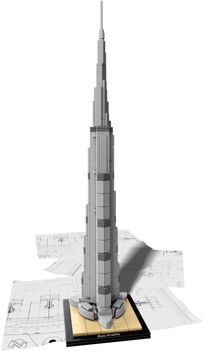 Lego Burj Khalifa (2016 edition)