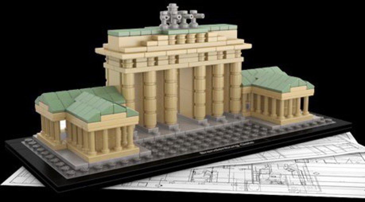 Lego Brandenburg Gate